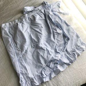 Brand New Madewell Wrap Skirt